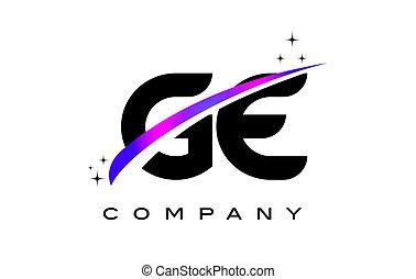 e, g, pourpre, logo, ge, conception, lettre, swoosh, noir, ...