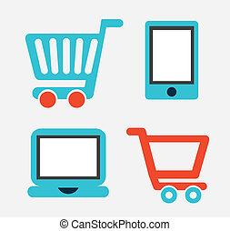 e-handel, projektować