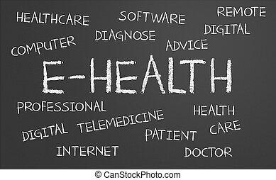 e-health, ord, moln