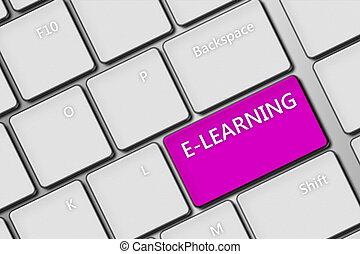 e-imparando, chiave calcolatore, tastiera