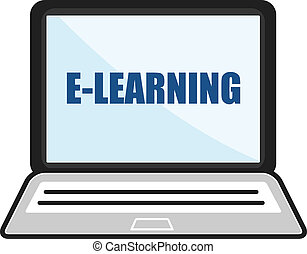 E-Learning Laptop Concept