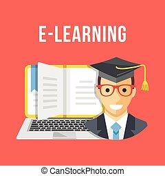 E-Learning, online education