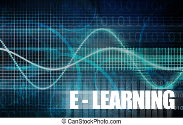 E-Learning or Electronic Learning Online as Art