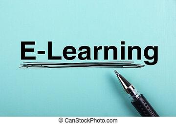 e-learning, szöveg