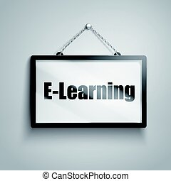 e-learning text sign