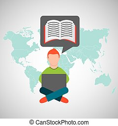 e-lernen, online, training, education-student