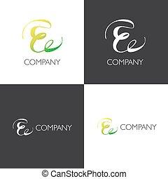E letter company Logo