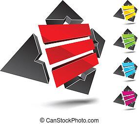 """E letter. - Illustration of """"E"""" 3d design element. ."""