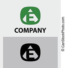 E Letter Logo Icon Design template