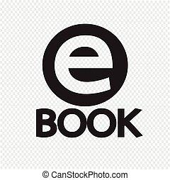 e-livre, icône