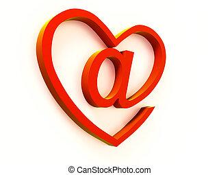 e-mail, écusson