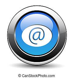 e-mail, botão