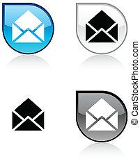 e-mail button.