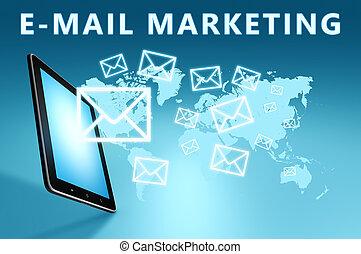 e-mail, commercialisation