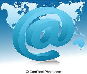 e-mail, concept
