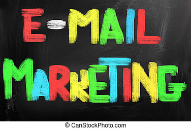 e-mail, concept, commercialisation