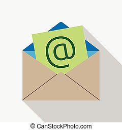 E-mail envelope icon