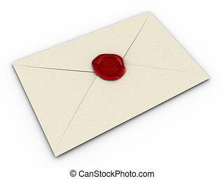 e-mail, enveloppe