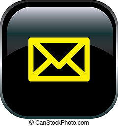 E-mail icon. vector illustration of email icons