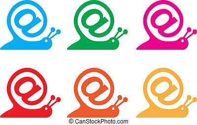 E-mail icon - E-mail concept, vector icon