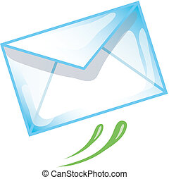 E-mail icon - Stylized e-mail icon or symbol