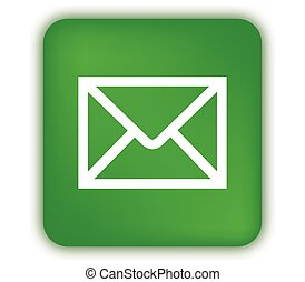 E-Mail Icon with Green Box