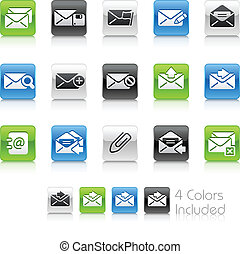 E-mail Icons // Clean Series