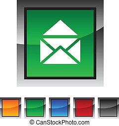 e-mail icons. - e-mail icon set. Vector illustration.