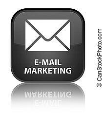E-mail marketing special black square button
