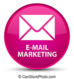 E-mail marketing special pink round button