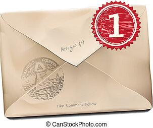 E-mail old new folder message. - E-mail old new folder...