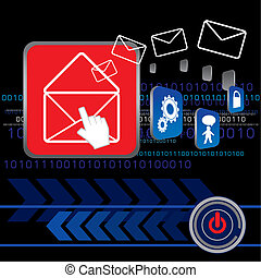 e-mail, versenden