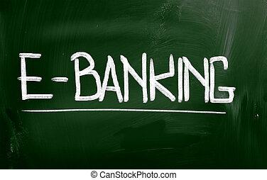 e-negócio bancário, conceito