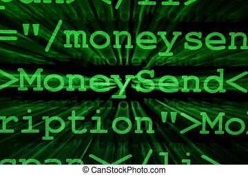 e-, peníze