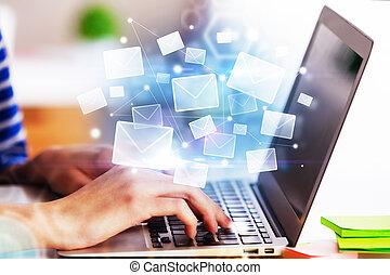 e-poczta, pojęcie, tworzenie sieci