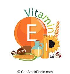 e, vitamine