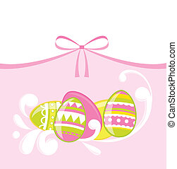Eacter eggs - Easter eggs card