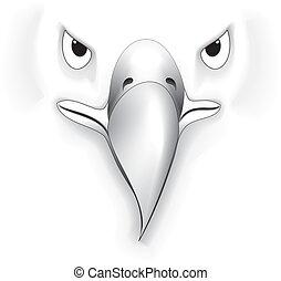 Eagle 04 - illustration vector for eagle set colored