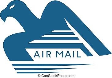 eagle air mail icon