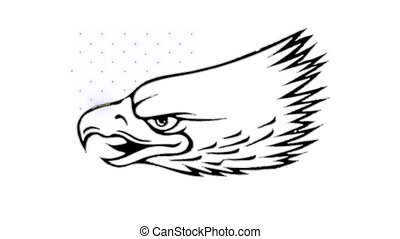 Eagle American symbol video animation - Eagle American ...