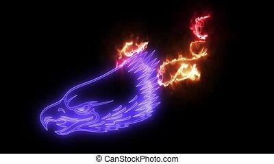 Eagle American symbol video animation - Eagle American...