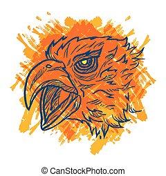 Eagle Art Colorful