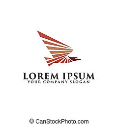 eagle Bird logo design concept template