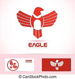 Eagle bird logo icon