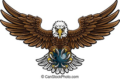 Eagle Bowling Sports Mascot