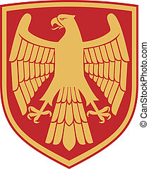 eagle (coat of arms, emblem)