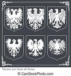 Eagle coat of arms heraldic
