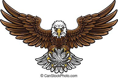 Eagle Golf Sports Mascot