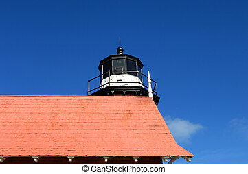 Eagle Harbor Lighthouse is an historic landmark in Upper...
