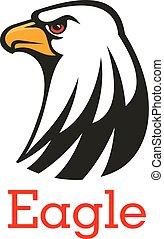 Eagle, hawk vector mascot emblem